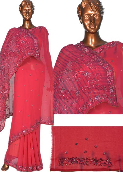 EMBROIDRED PALOU SAREE
