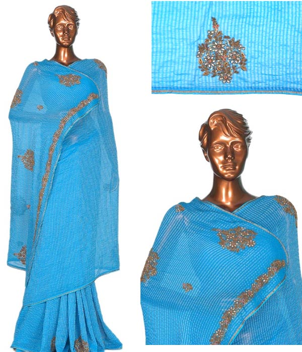 EMBROIDRED PARTY WEAR SAREE