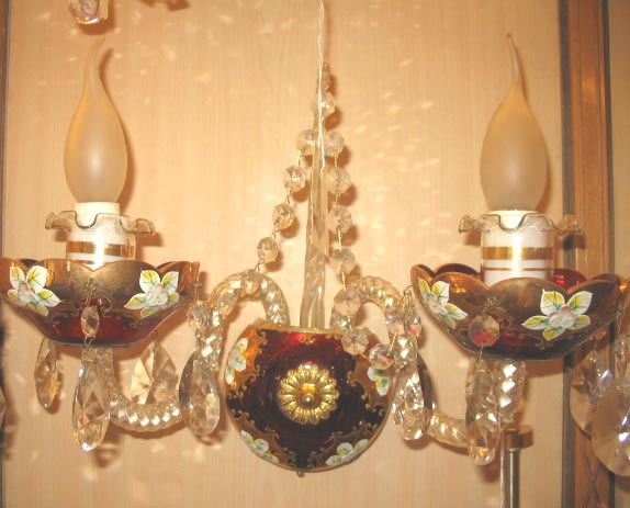 WALL HANGING CHANDELIERS