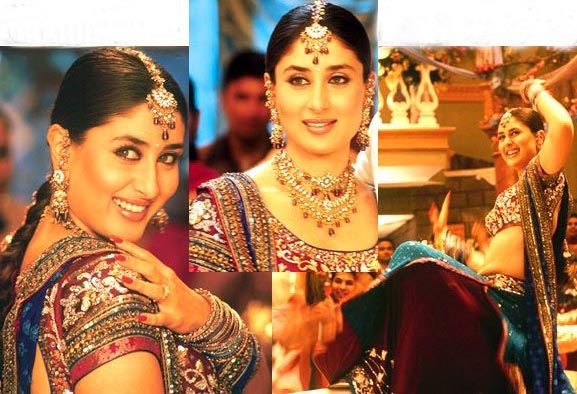 BOLLYWOOD KAREENA KAPOOR PARTY WEAR JEWELLERY SET