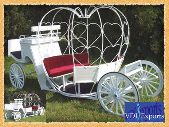 LOW HEIGHT WEDDING CINDERELLA CARRIAGE