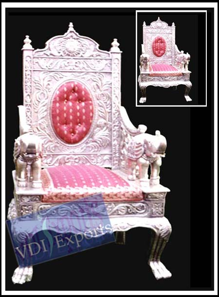 ROYAL SILVER THRONE