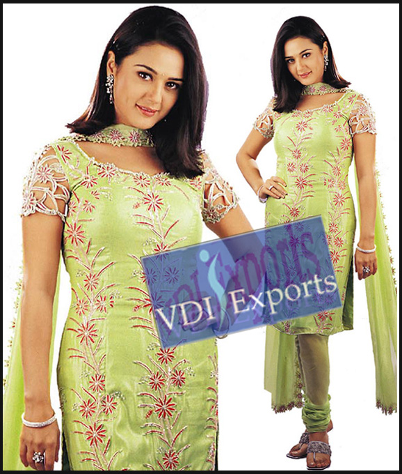 BOLLYWOOD PREITY ZINTA PAJAAMI SUIT
