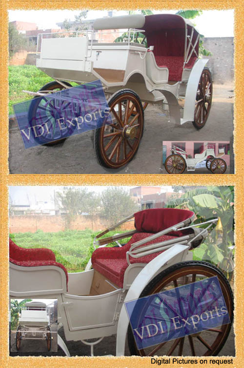 VICE VERSA VICTORIAN HORSE CARRIAGE