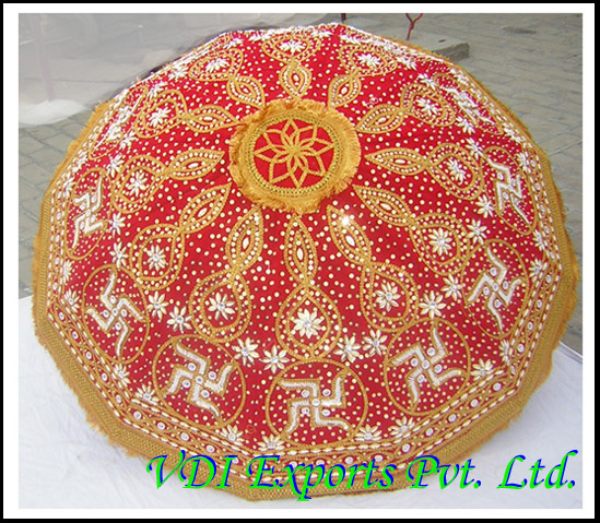 SWASTIK EMBROIDERED WEDDING UMBRELLA