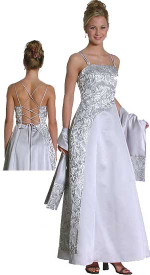 PRINTED FORMAL  GOWN