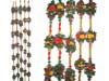 FLOWER PEARLED MANDAP CHAINS