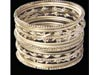 ARTIFICAL SILVER BANGLES