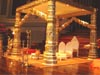 GOLDEN DEVDAS WEDDING MANDAP