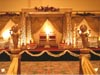 GOLDEN CARVED MANDAP WITH ENTERENCE