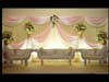 WEDDING THRONE WITH TWO SEATER
