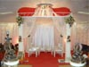 DESIGNER MANDAP WITH AISLE PILLARS