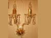 WALL HANGING COLOURED CHANDELIERS
