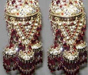 BURGANDY BRIDES PUNJABI CALIREAY