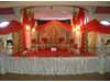 FANCY ROUND WEDDING MANDAP