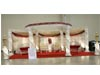 ROYAL FIBER CRYSTAL ROUND WEDDING MANDAP