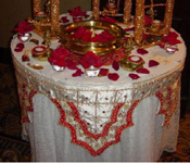 GANEHSA TABLE DECORATION THEME