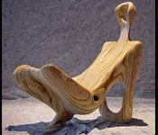 HUMAN BODY LOOK REST CHAIR IN FIBER