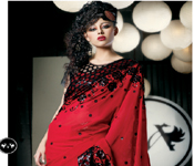 CASINO JACKET BLOUSE PARTY WEAR SAREE