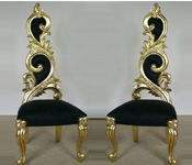LATEST ITALIAN CARVED CHAIRS
