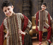 FASHIONED DESIGNER KID SHERWANI