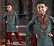 STYLISH DESIGNER KID SHERWANI