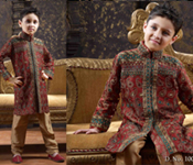 WEDDING PARTY WEAR DESIGNER KIDS ACHKAN