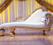 DESIGNER BRIDE GROOM COUCH WITH MATCHING CHAIRS