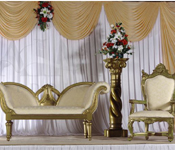 BRIDEGROOM SOFA SET WITH PARENT CHAIRS