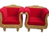 ROYAL THRONE WITH TWO SEATER