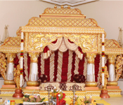 SRILANKAN WEDDING THEMED MANDAP