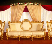 ROYAL WEDDINGS THRONES STAGES