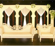 MUGHAL THEMED WEDDING STAGE