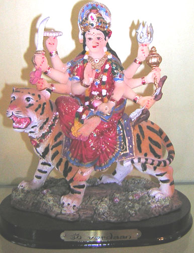 MAA DURGA ON LION