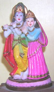 STATUE OF KRISHAN WITH RADHA
