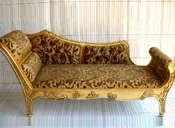STYLISH CARVED WOODEN COUCH