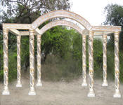 EIGHT PILLARS CRYSTAL MANDAP